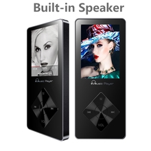 2017 New Portable Music Player 8GB Walkman MP3 Player Hi-Fi Sound Audio Player Video Player Expandable Up to 64GB TF Card Black