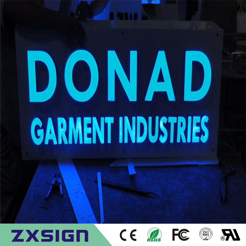 Factoy Outlet Outdoor Super High Bright Led Letters,resin Signs