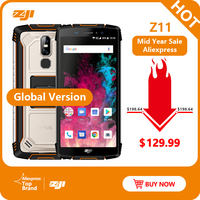 HOMTOM ZJI зоджи Z11 IP68 Водонепроницаемый пыле 10000 mAh смартфон 4 Гб 64 Гб Octa Core сотовый телефон 5,99