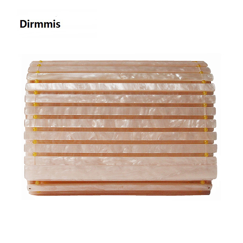 Brand New Fashion Wallet Women Luxury Evening Bag Elegant Acrylic Champagne Solid Shoulder Bags Luxury Party Prom Vintage Clutch in Top Handle Bags from Luggage Bags