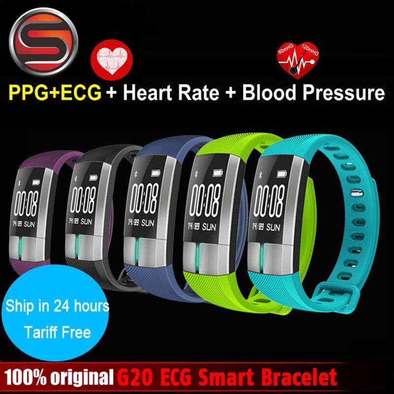 SOVOGU B13 ECG Realtime Hear Rate Monitor Smart Bracelet Fitness Activity Tracker Blood Pressure Wristband Pulsometro PK ID107 цены