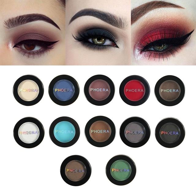 PHOERA Matte Eyeshadow Palette Waterproof Lasting Eye Shadow Beauty Makeup Cosmetics Maquillaje Profesional Sombra TSLM2