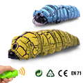 1 Pcs Kids Creative Simulation Infrared Sensor Remote Control RC Beetles Caterpillars Tricky Toy Electronic Pets Funny Novelty