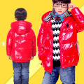 Male child down coat 2017 child thermal down outerwear child baby casual all-match outerwear
