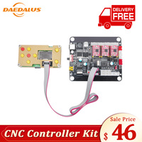 Daedalus CNC GBRL Offline Controller With Bluetooth Version 3 Axis CNC Controller GRBL Control Offline Board for 3018 Engraving