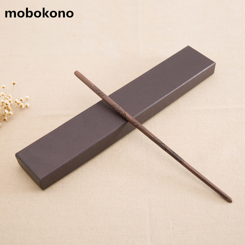 mobokono Top Quality James Potter Wand With Metal core Cosplay Prop Magic Wand Movie Toy Stick Harry Potter