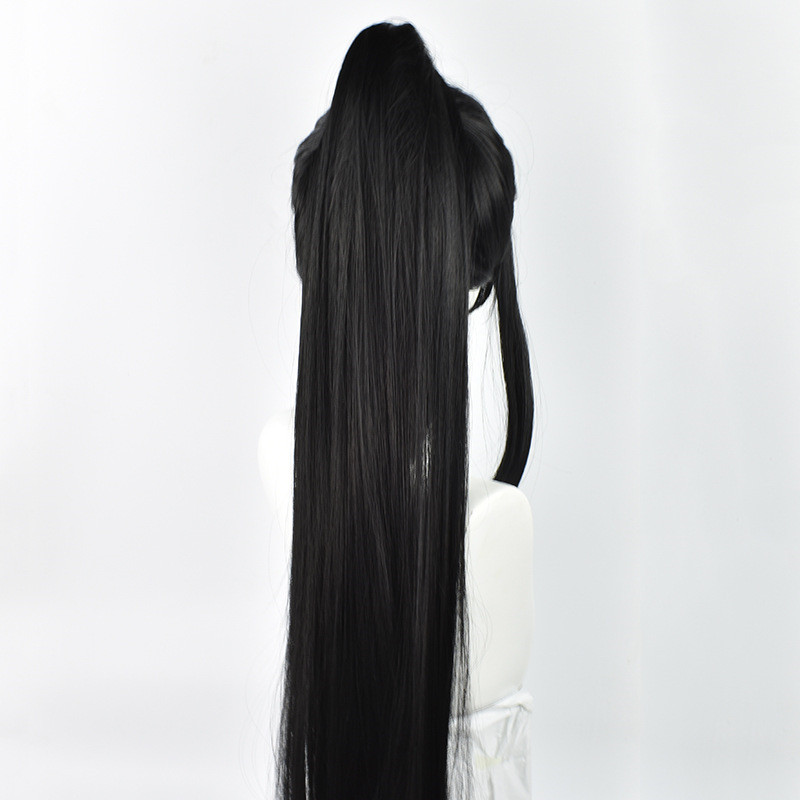 Image 5 - Grandmaster of Demonic Cultivation Xue Yang Xiao Xing Chen Cosplay Wig Chinese Anime Magic Ancestors Cosplay Black Long Hair Wig-in Anime Costumes from Novelty & Special Use
