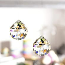 XINTOU Clear Glass Crystal Ball Prism Pendant 2 pcs/ set 30 mm/40 mm Suncatcher Rainbow Decoration For Home Window Living Room
