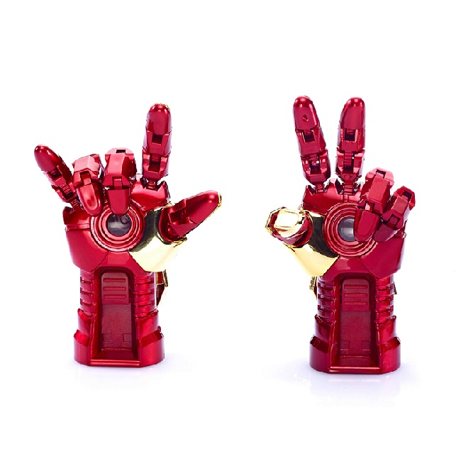 Moda Avengers Iron Man Hand LED Flash 64 GB USB Flash Drive 128 GB 512 GB 1 TB 2.0 Memory Stick Karta Pendrive Dysk 1 TB Prezent