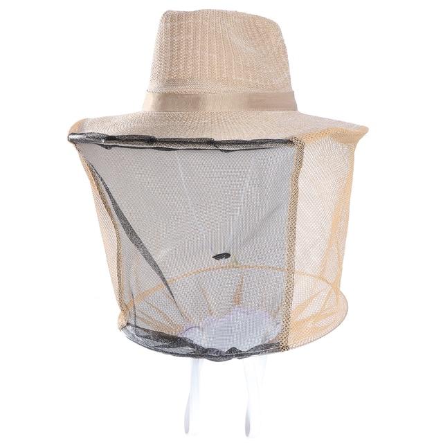 Bug Mosquito abeja insectos Malla Protectora sombrero de vaquero cabeza  Protector 5575fb07f37