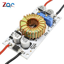 250 Вт DC-DC повышающий преобразователь Регулируемый 10А повышающий Постоянный ток модуль питания Светодиодный драйвер для Arduino
