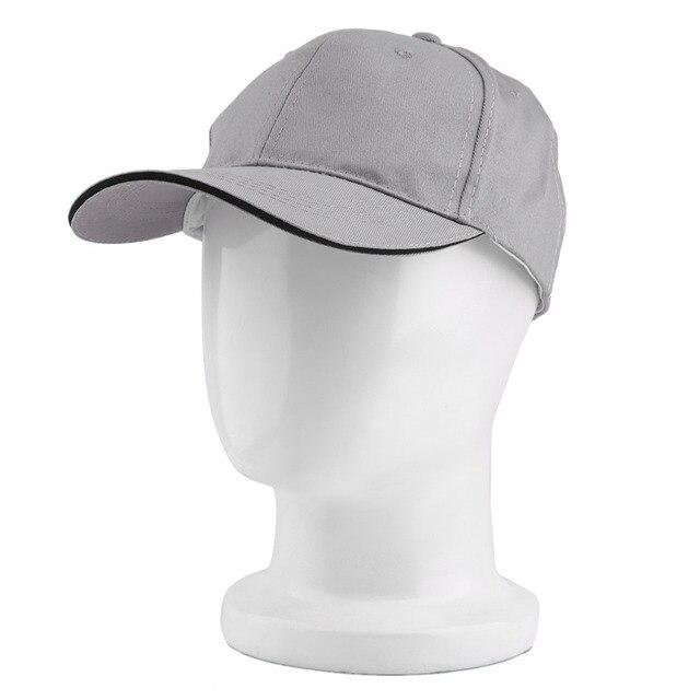 756e292c24d3 € 4.4 |En blanco curvo llanura gorra de béisbol del visera gppd color  sólido ajustable con gris blanco negro rojo caqui color 2016 caliente venta  ...