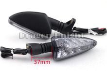 Motocycle Accessories LED Turning signals For Aprilia SL 750 Shiver SL 750 GT Shiver SMV 750 Dorsoduro Long Smoke