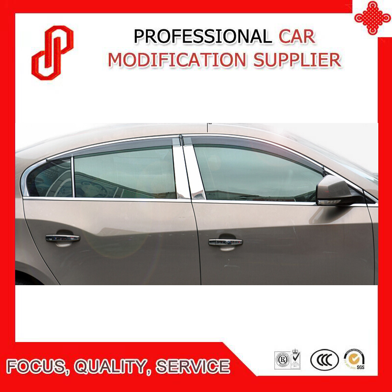 High Quality Injection molding trim vent shade rain sun wind deflector window visor for Lacross 2009-2015 2016-2018High Quality Injection molding trim vent shade rain sun wind deflector window visor for Lacross 2009-2015 2016-2018