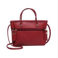 цена на Ladies Handbags Crossbody Bags For Women 2019 New Design PU Leather Fashion Female Shoulder Bag Litchi Pattern Messenger Package