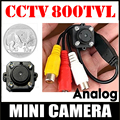 Very Mini 1/4cmos 700tvl Hd micro camera Audio Mic 4pcs Led infrared Night Vision AV Joint small security surveillance vidicon
