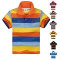 High Quality Breathable Boys Polo Shirt Children Brand Shirt Kids Short Sleeve Cotton Summer Girls T-Shirts