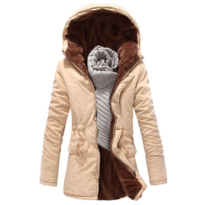 2017 Top Sale Long Russian Winter Coat Long Mens Overcoats Casual Hooded Overcoat Branding Clothes Men