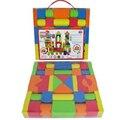 Bebé Juego de Bloques de Colores Caja de Ordenación Educativa de Formación de Inteligencia de Juguete de Forma Geometría Bloques de Construcción Ensambladas Modelo