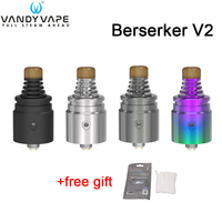 In stock! Original Vandy Vape Berserker V2 MTL RDA 1.5ml VandyVape BSKR Atomizer Electronic Cigarettes VS Berserker MTL RTA