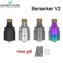 цена на In stock! Original Vandy Vape Berserker V2 MTL RDA 1.5ml VandyVape BSKR Atomizer Electronic Cigarettes  VS Berserker MTL RTA