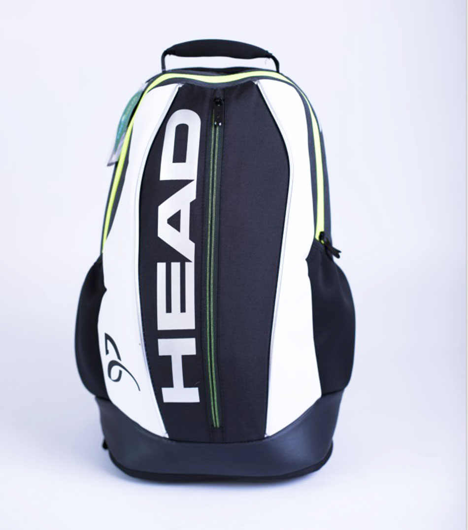 Head Tennis Backpack Tennis Racket Bag Capacity 3 Tennis Racquet Bag With Separated Shoe Bag Head Tennis Backpack Badminton Pack