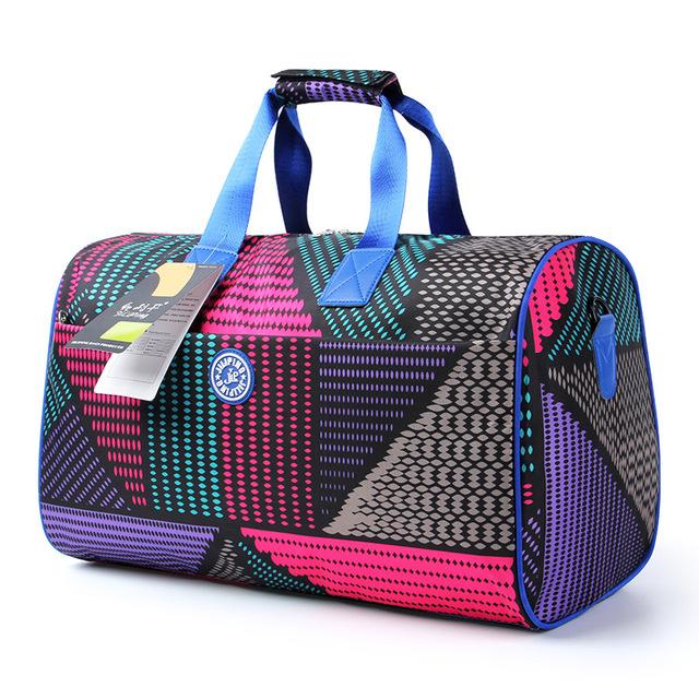 2016 moda multi cor do saco de mão de grande capacidade saco de viagem à prova d' água