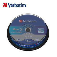 Verbatim 6X Blu-ray BD-R DL 50GB disco grabable en blanco lotes no imprimibles azul Ray Disk Compact almacenamiento blu ray player(China)