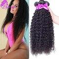 Wholesale On Aliexpress Brazilian Curly Virgin Hair Unprocessed Grade 8A Soft Human Hair Weave Brazilian Virgin Hair 4 Bundles