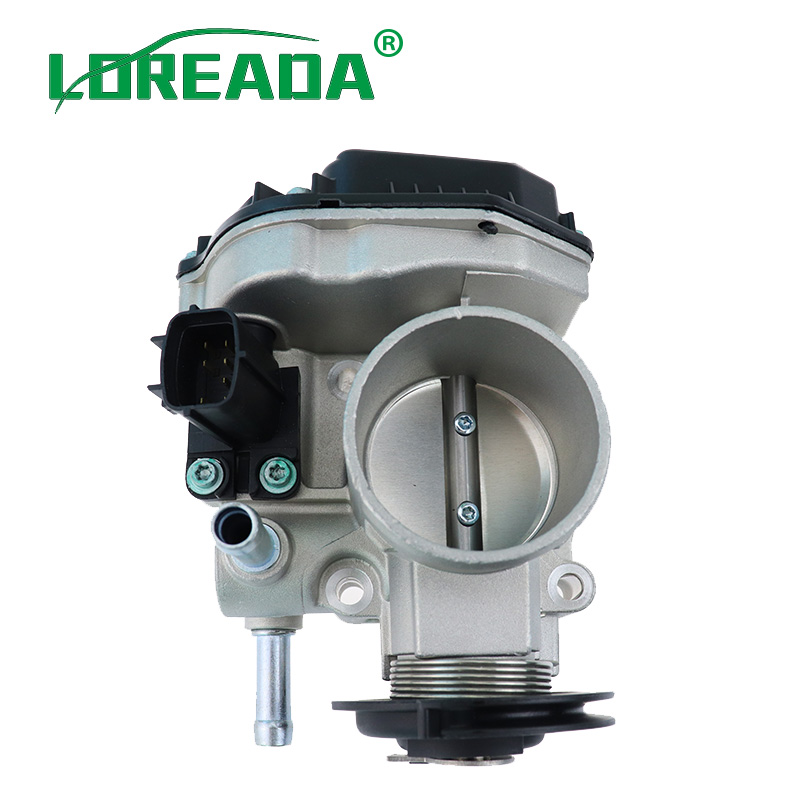 Image 2 - LOREADA Throttle Body Assembly 96394330 96815480  Air Intake System For Chevrolet Lacetti Optra J200 Daewoo Nubira 1.4i 1.6i-in Throttle Body from Automobiles & Motorcycles