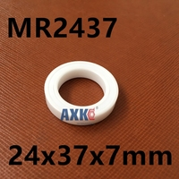 MR24377 MR2437 2RS 24377 MR2437LLB MR243707 Full ZrO2 Ceramic Bearing 24x37x7mm Bike Wheel Hub Bearing For