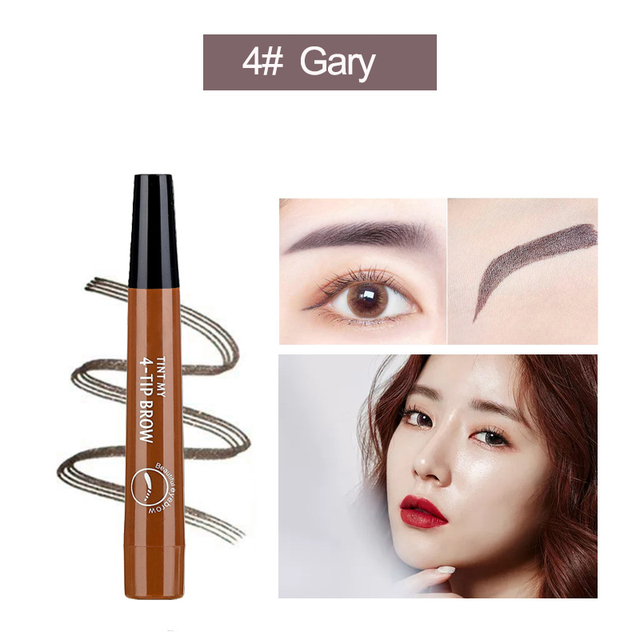 Microblading Eyebrow Pen Waterproof eyebrow shaping Eyebrow Tattoo Pencil henna eyebrow easy wear eye makeup Liquid Eye Brow Pen 5