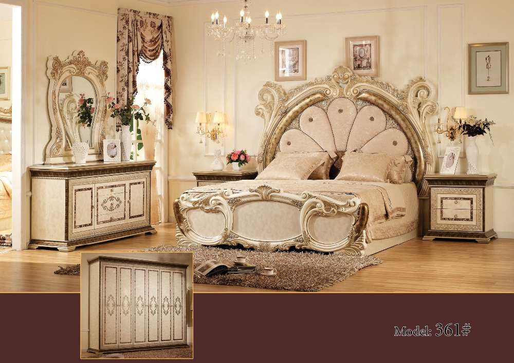 Mewah Bedroom Furniture Set, China Deluxe Enam Piece Suit