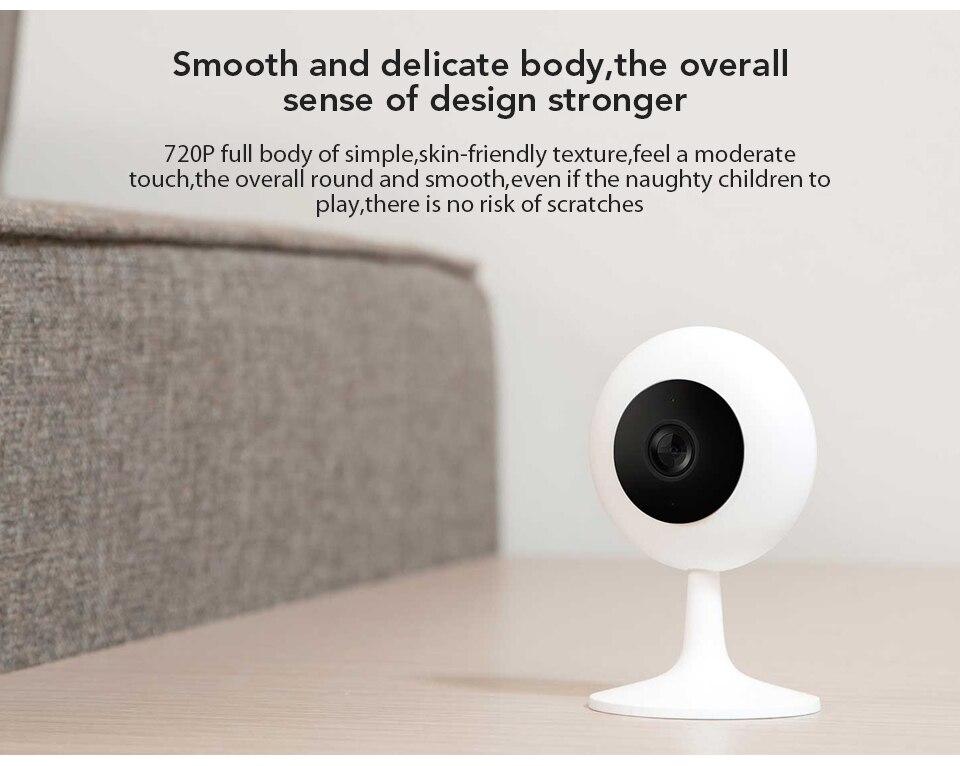 Xiaomi Mijia Xiaobai Smart Camera Popular Version 720P HD Wireless Wifi Infrared Night Vision 100.4 Degree IP Home Cam CCTV (7)