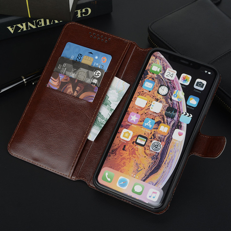 Case for <font><b>Alcatel</b></font> One Touch Pop 4 Plus 5056 <font><b>5056D</b></font> 5051D 5051J Wallet Flip Leather Phone Bag Cases Soft Cover image