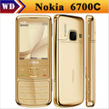 Original 6700C Unlocked Nokia 6700 Classic Cell Phone 5MP 6700c Support Arabic / Russian keyboard