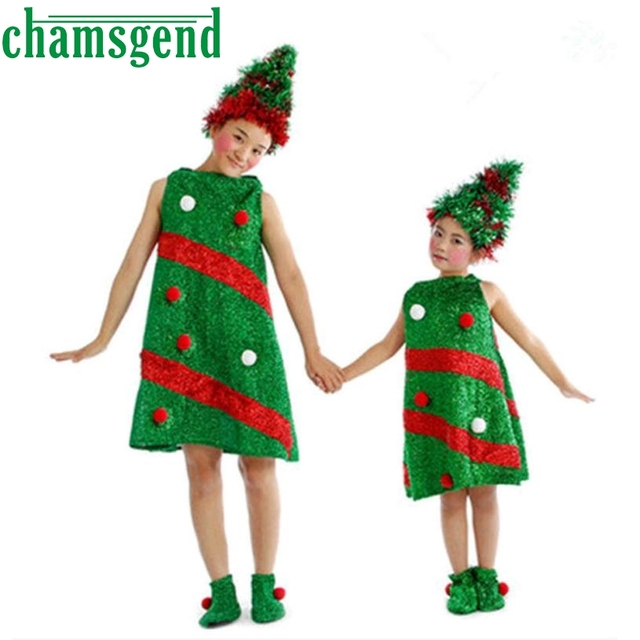 childrens christmas tree dance costumes toddler kids baby girls christmas clothes party dresseshat