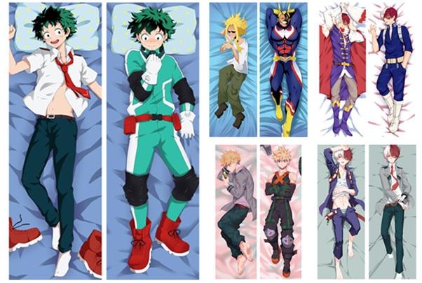 Daki Anime Izuku Midoriya Tsuyu Asui Froppy Bakugou Katsuki Ochaco Uraraka Todoroki Shoto My Hero Academia Hugbody Pillowcases Pillow Case Aliexpress