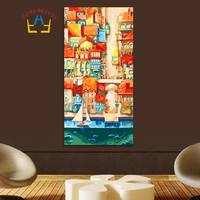 40 80 Large Oil Painting By Numbers Calligraphy Painting Canvas Picture On Canvas For Living Room