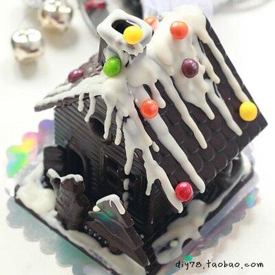 Trodimenzionalni kalup za kuće od čokolade / koliba od čokolade / - Kuhinja, blagovaonica i bar - Foto 2