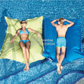 Cover only  No Filler-oversized luxury comfortably accommodate two adults float beanbag, pool bean bag lounge- outdoor enjoyment