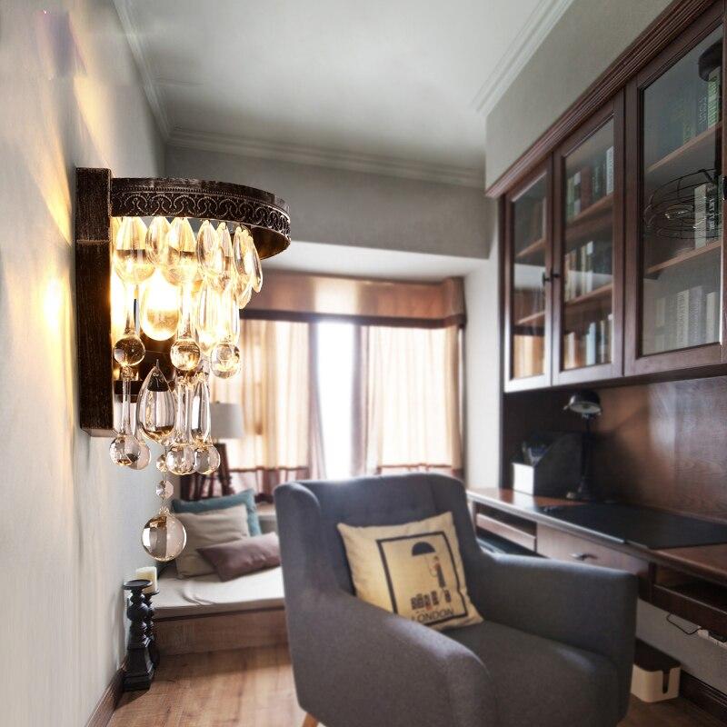 Հյուրասենյակ Մեծ կաթիլ բյուրեղապակ - Ներքին լուսավորություն - Լուսանկար 3