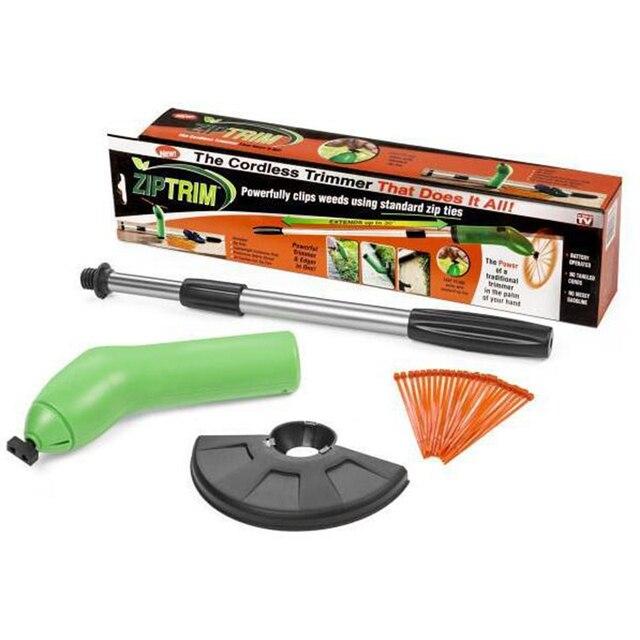 4aaa0c941fb Zip Trim Cordless Trimmer Tuin weed cutter Edger Werkt met standaard Zip  Ties Cordless maaier trimmer