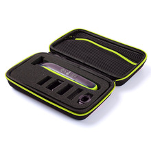 New EVA PU Carrying Zipper Sleeve Portable Protective Hard Cover Bag Box Case for Philips OneBlade Trimmer Shaver & Accessories