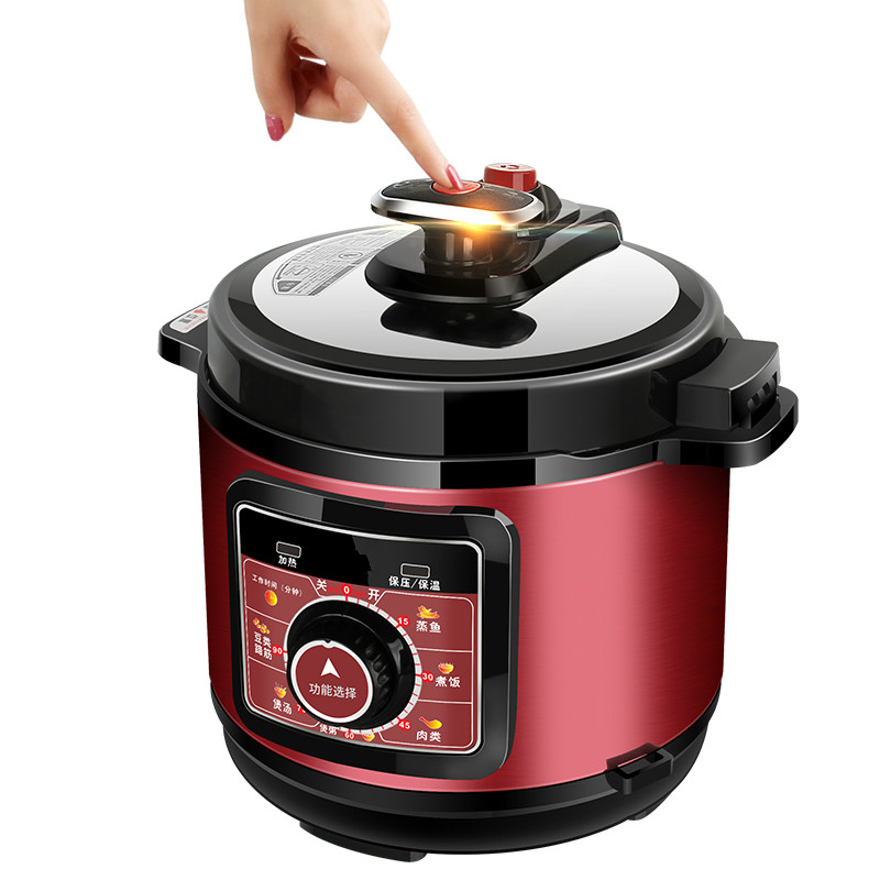 Electric Pressure Cookers Mechanical household electric pressure cooker dual biliary 5L multi-function rice cooker parts steam pressure release valve