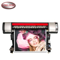 Latest DX5 head Water Based Large Format Poster/Vinyl/Banners Printer Machine 63 Inch Rolling Label Printing Machine