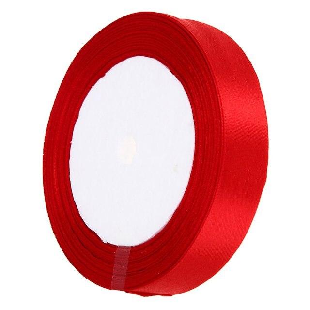 Roll Ribbon Galon Bolduc Red Deco Diy Scrapbooking Wedding Couture