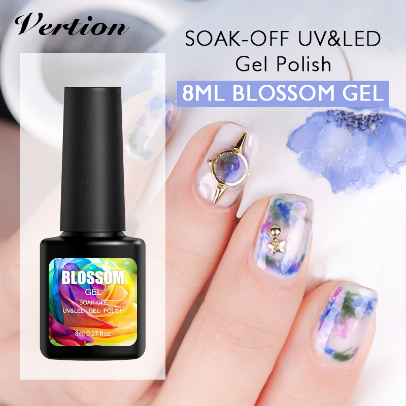 Gel Nail Polish Sale: Verntion Sale White Blooming Gel Nail Polish Blossom Gel