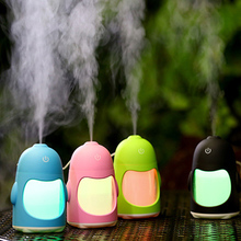 FFFAS USB Humidifier Air Spray Machine Penguin Shape Fog Sprayer Steam Maker Humid Air USB Gadgets for Winter Summer Tablet PC