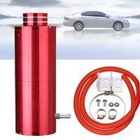 800ML Car Aluminum Overflow Radiator Alloy Coolant Catch Reservoir Tank Red